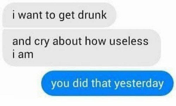 Drunk And Wasted People