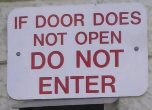 Signs That Make Me Fear For Humanity