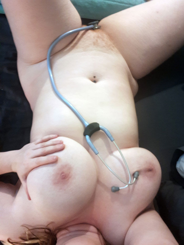 Naughty Nurse Nude