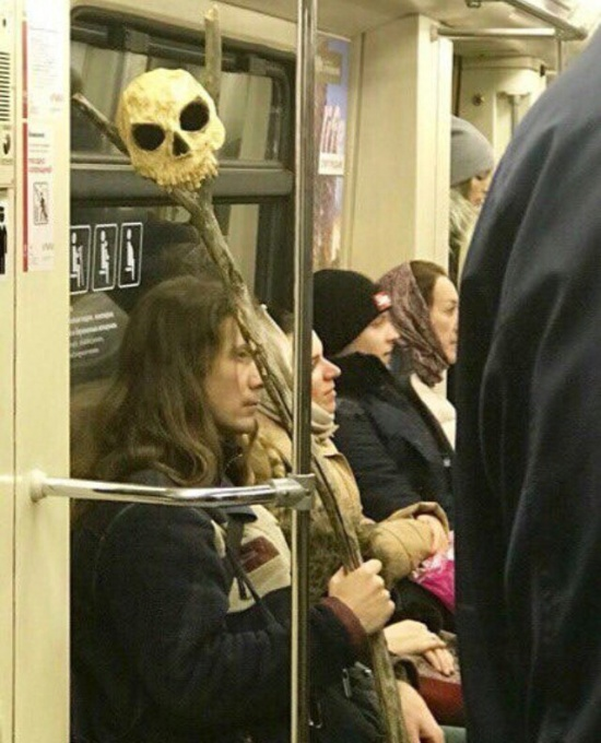 Subway Is Not Where Normal Happens