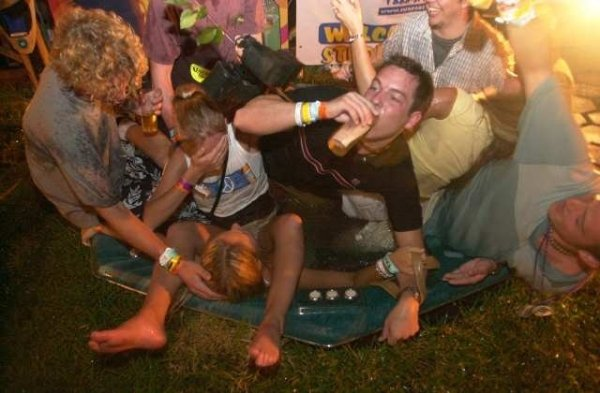 Embarrassing Photo Of Drunk People