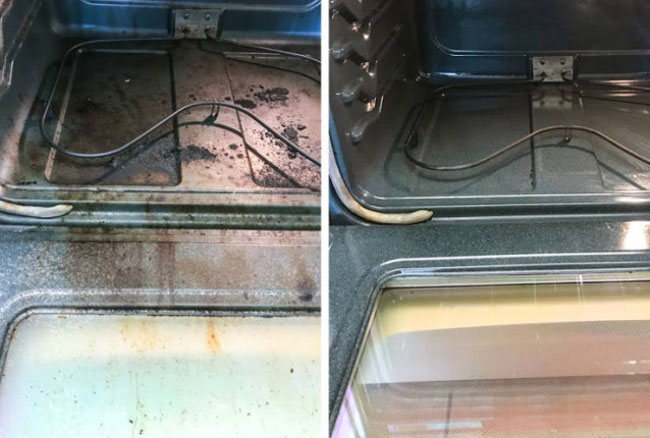 Before And After Cleaning