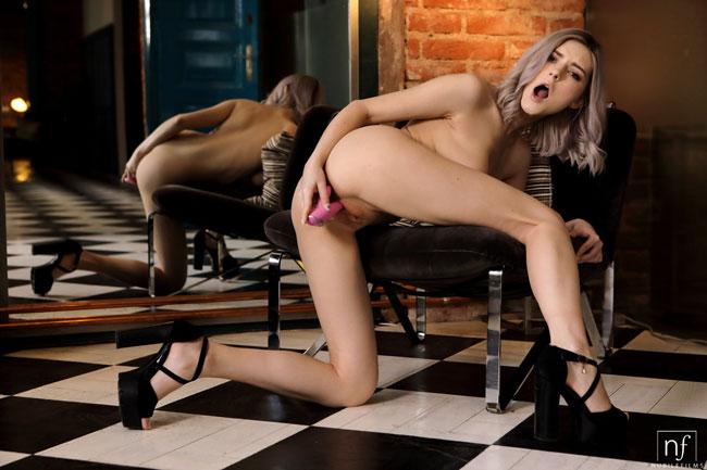Eva Elfie Pleasuring Herself