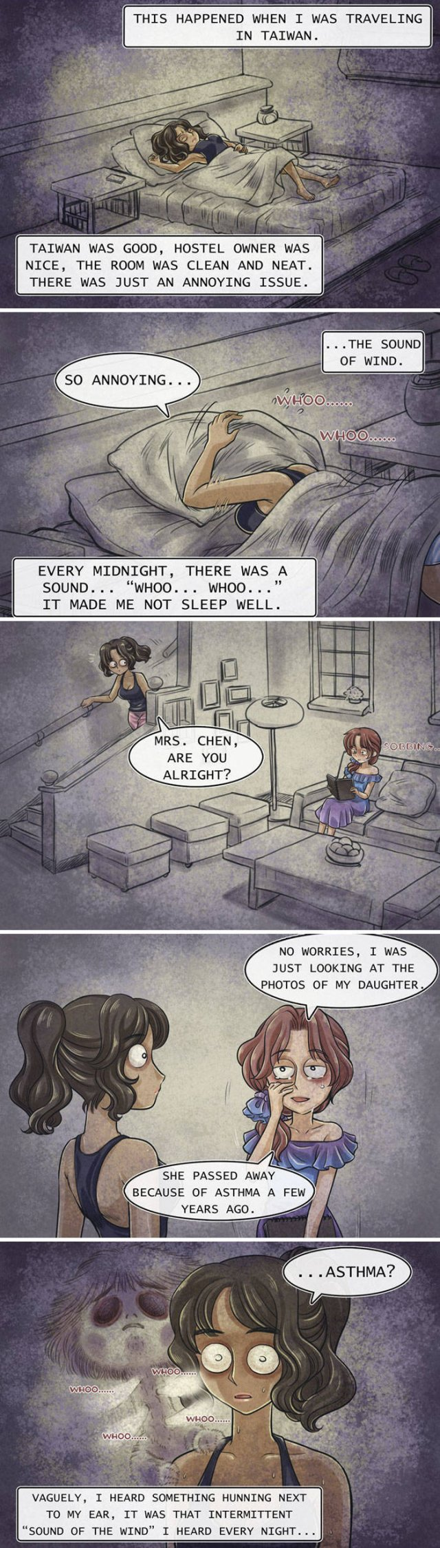 Scary Comic With Unexpected Ending