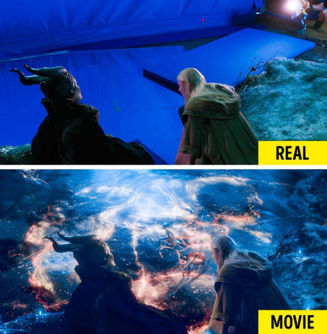 Movie Effect Vs Real