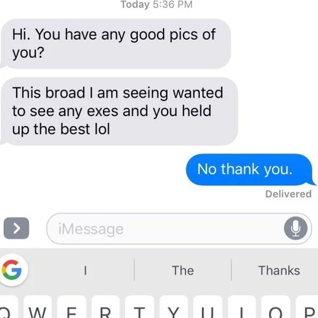 Text From Ex