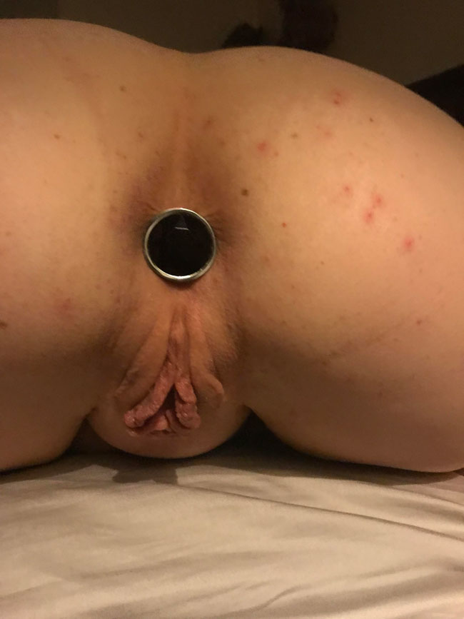Girls With Butt Plug In Her Ass