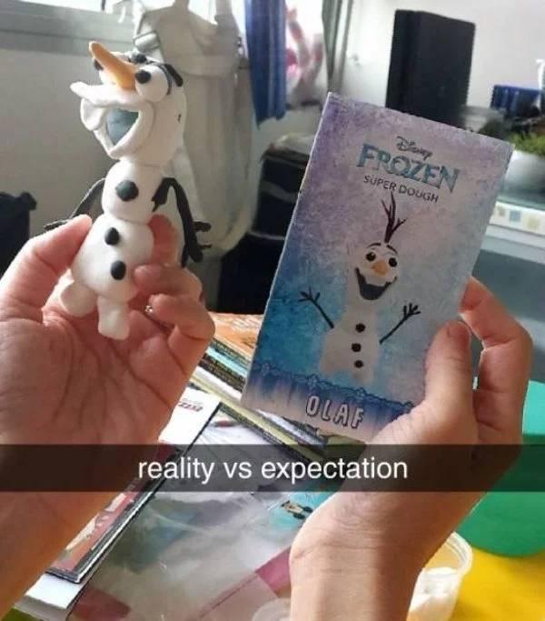 Expectation Vs Reality Funny Photo