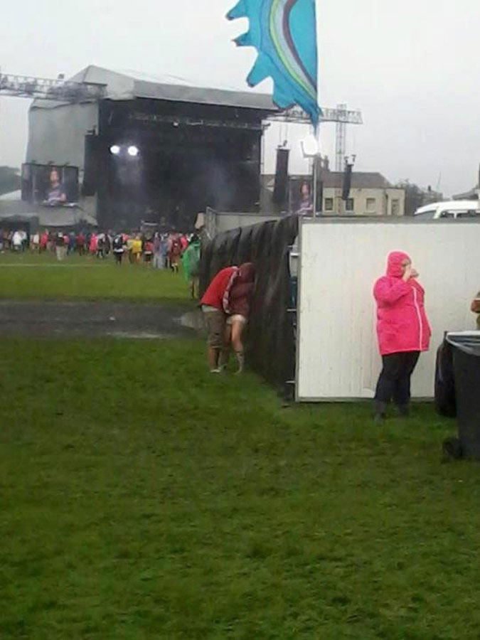 Only Seen In Music Festivals