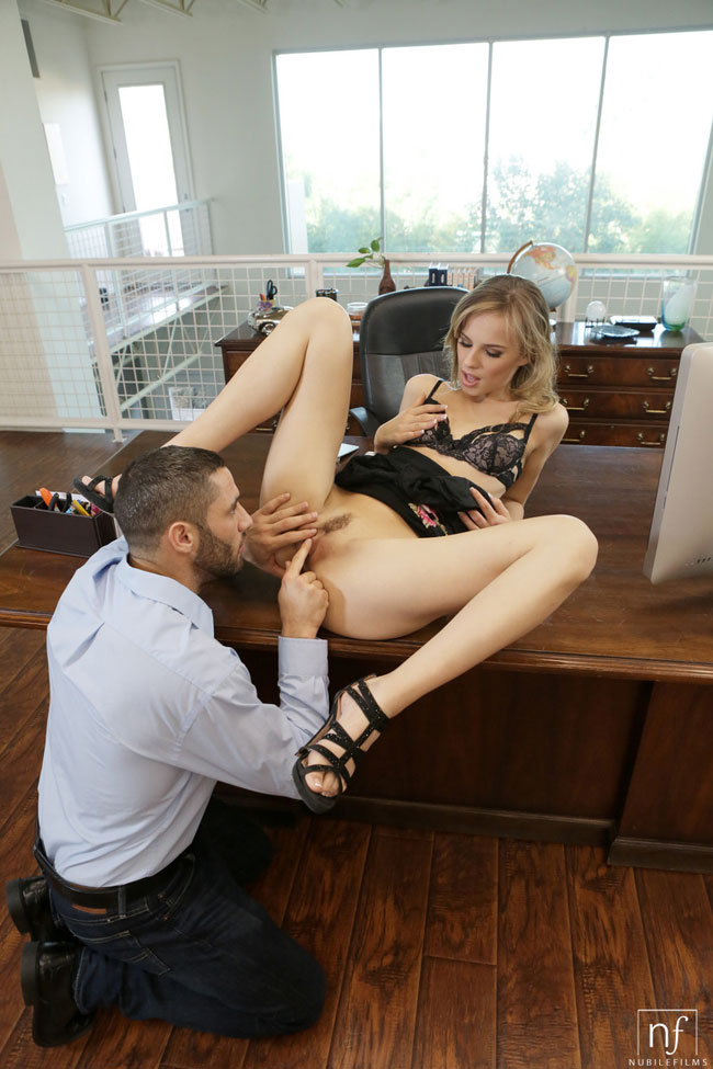 Office Rumor: Featuring Jilian Janson Sex Photo