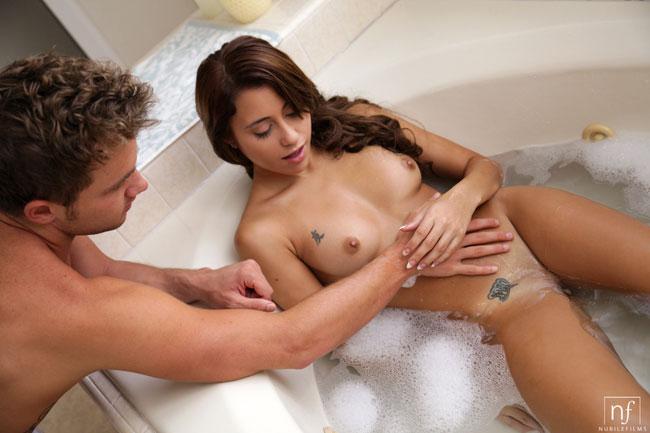 Marina Angel Gets Fucked After Nice Bath