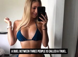 Sexy Girl and Interesting Fact