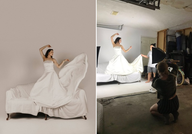Behind The Scene Of Professional Photos