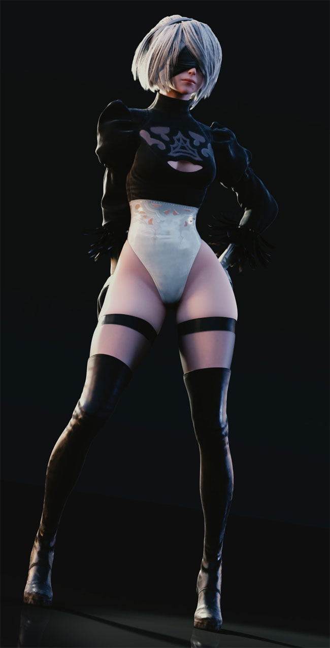 Sexy Gaming Girl Picture