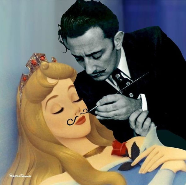 Inappropriate Disney Art