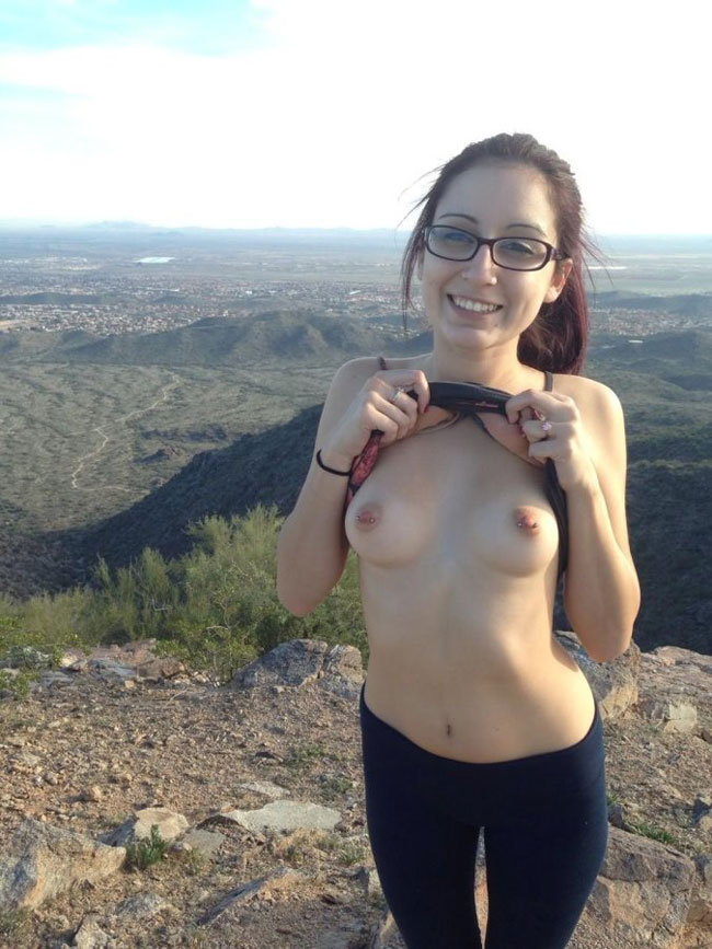 Outdoor Naked Adventure