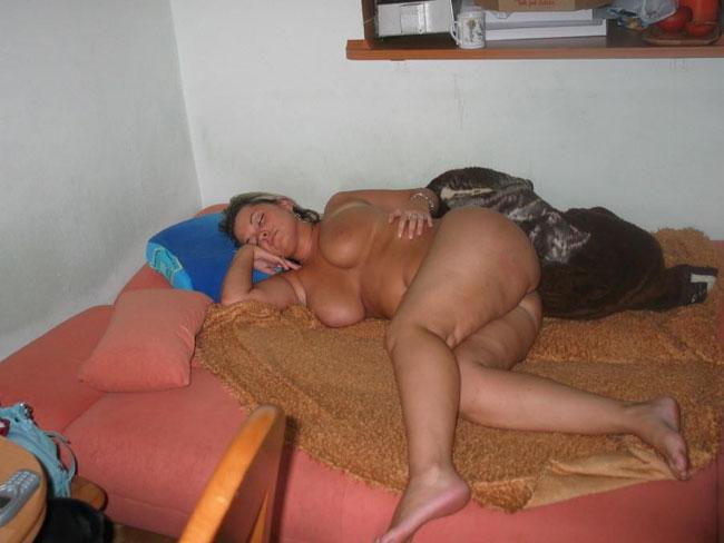 Beautiful Girl Sleeping Naked