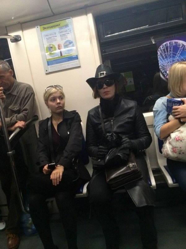 Weird Things Going On Subways