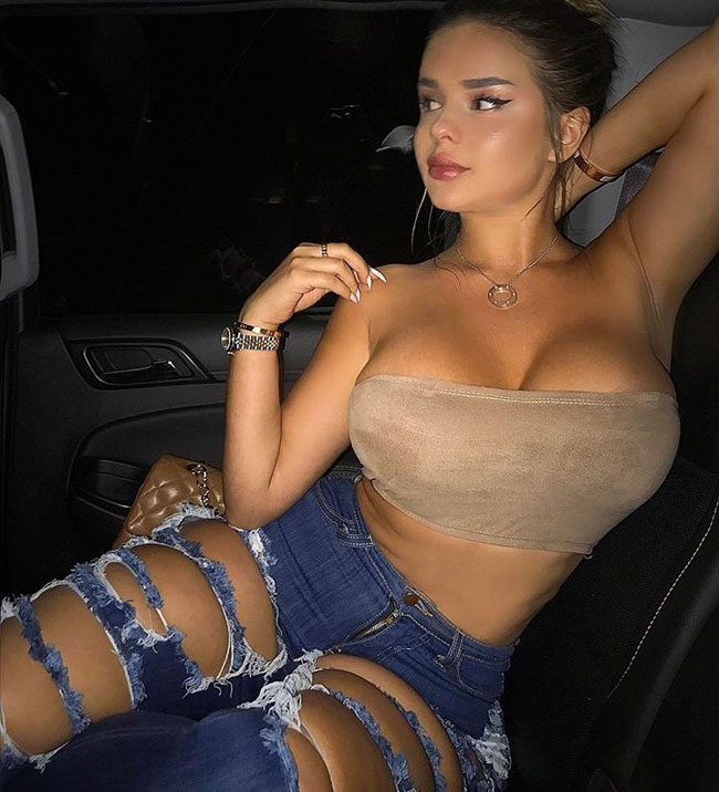 Big Ass Squeezing Into Jeans