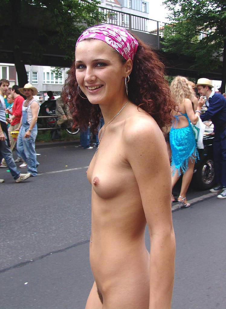 Real Public Nudist