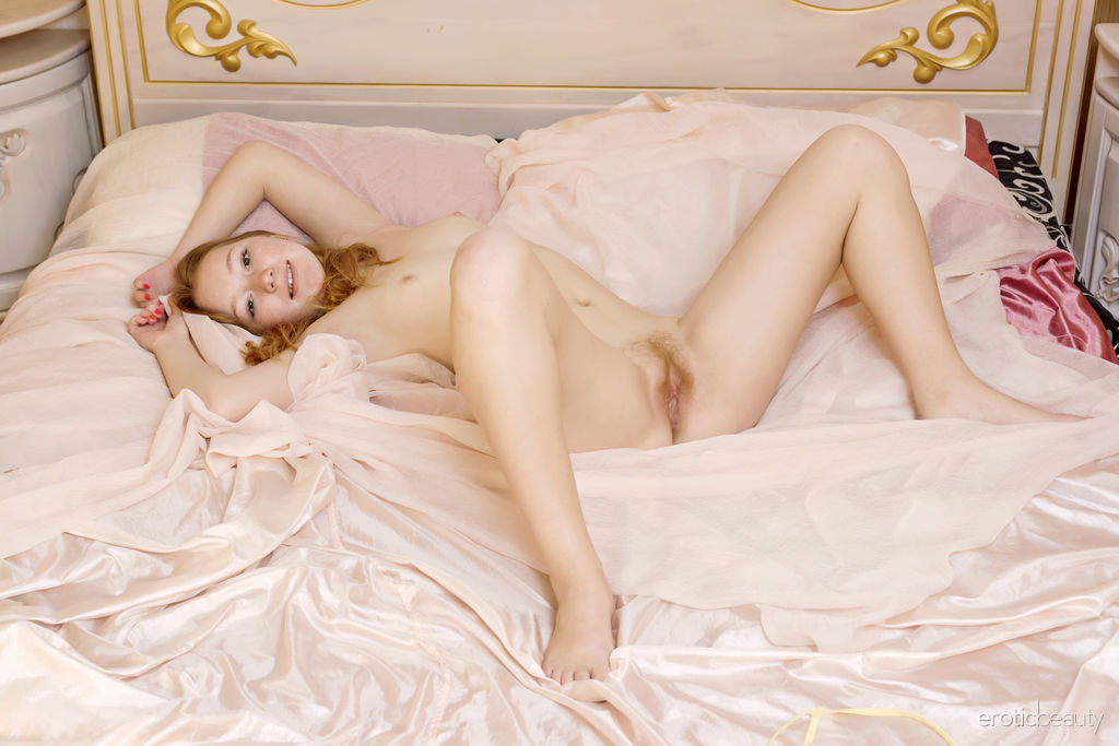 Bedtime Stories Nudes Of Hot Babe Red Cat