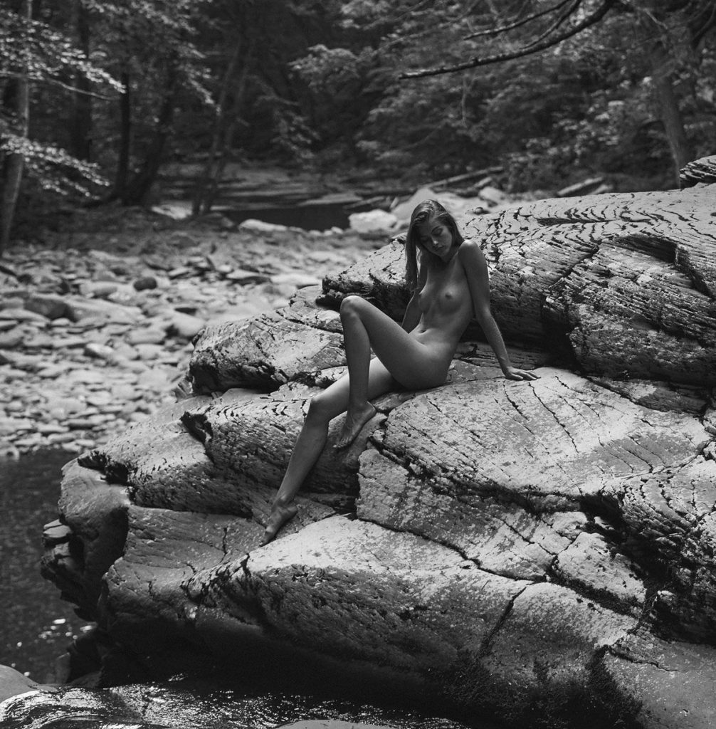 Nudist Girl In The Nature