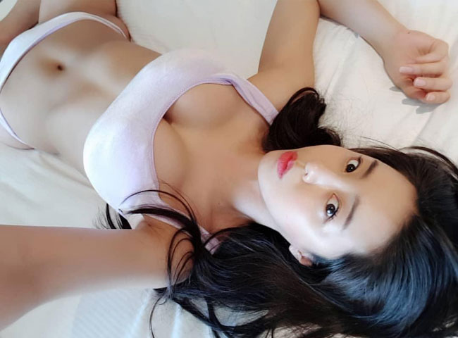 Busty Asian Chick Nudist