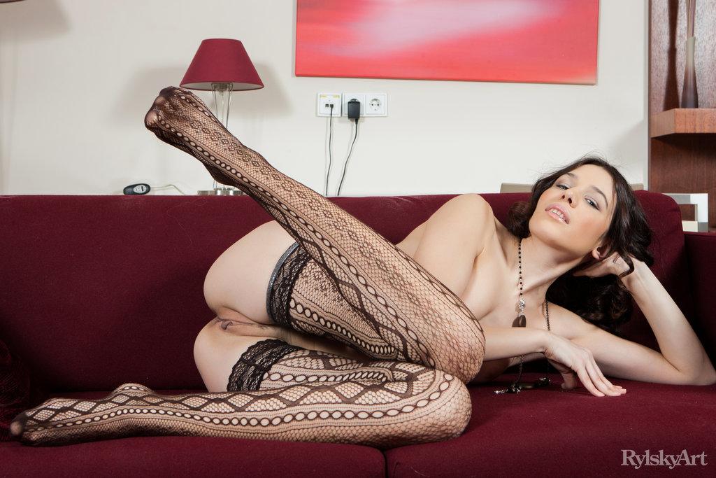 Carmen C In Stocking Teasing You
