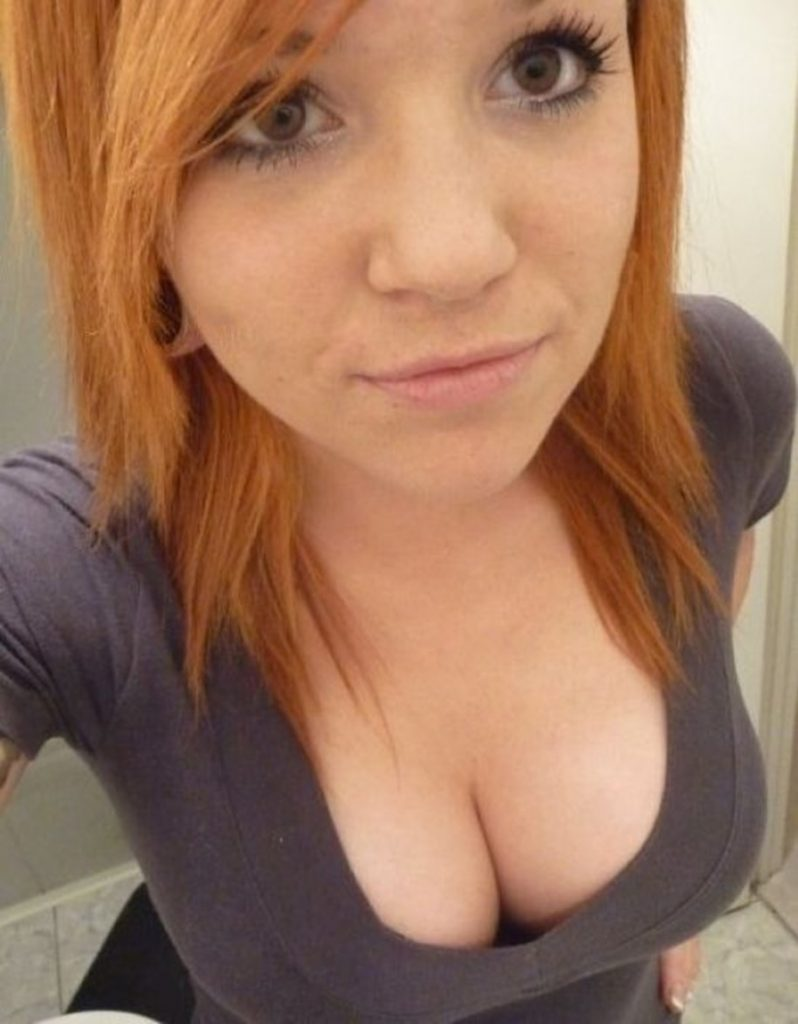 Cleavage Girl