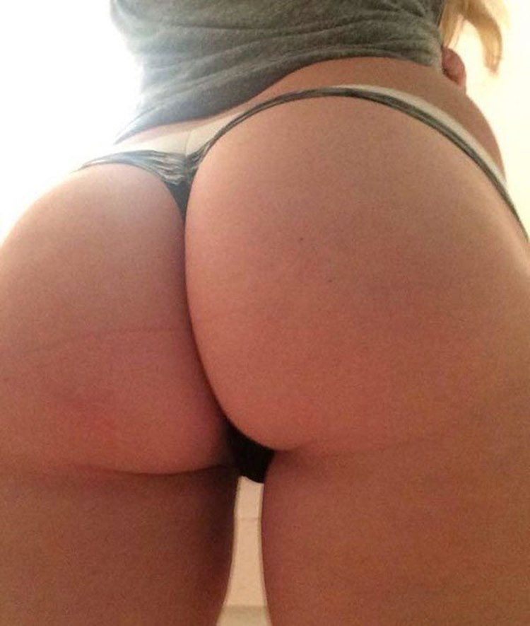 Ass In Thong
