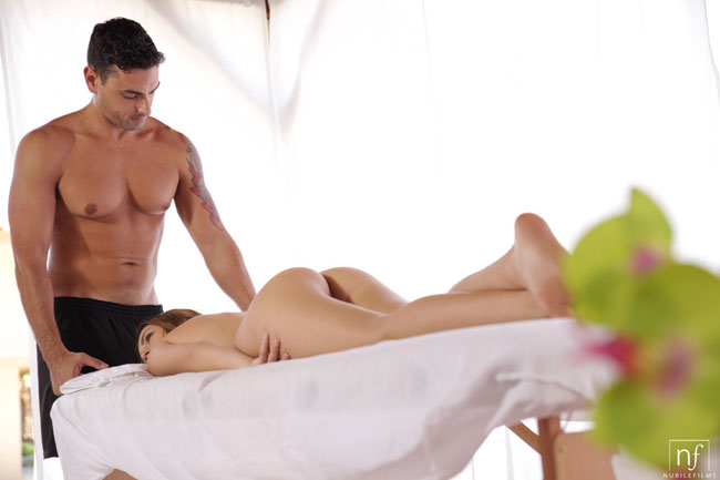 Maci Winslett Getting Massage And Fucked