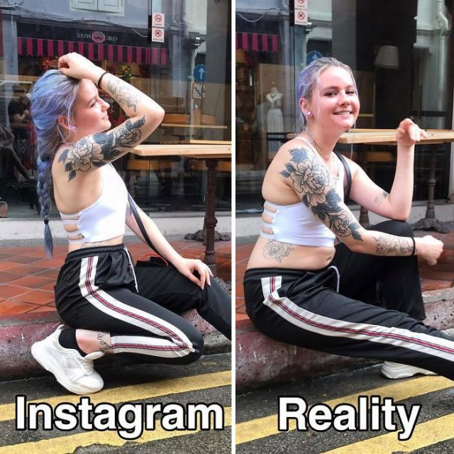 Instagram Vs Reality The Difference