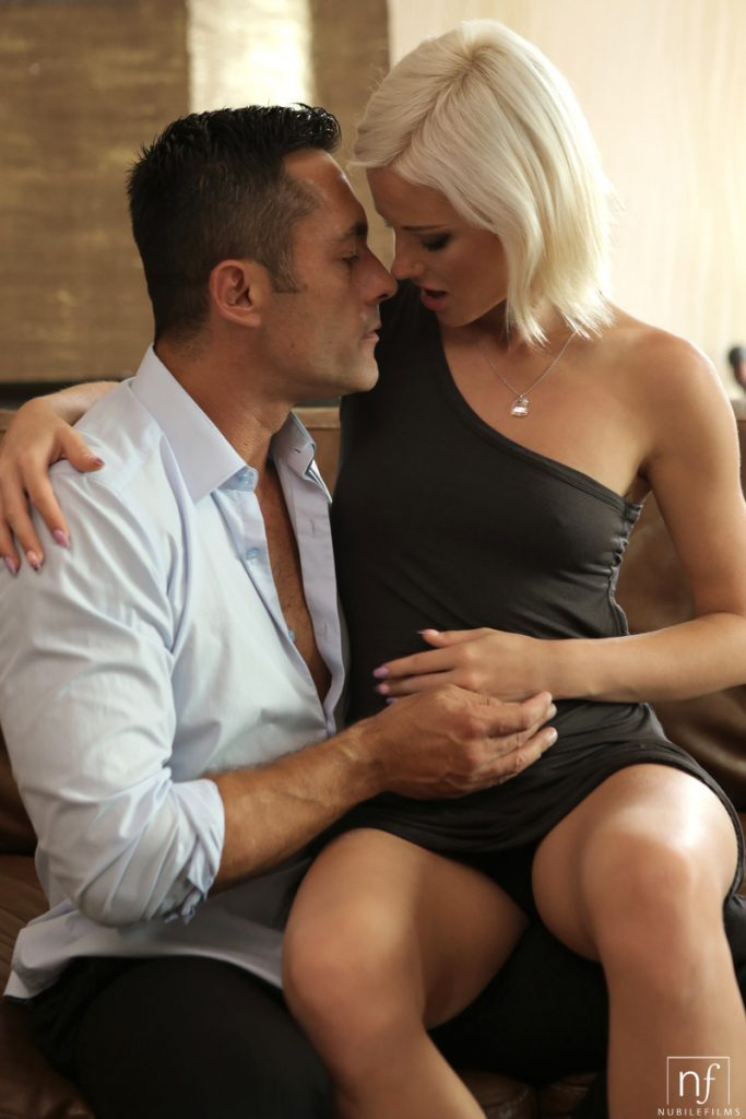Risque Romance With Hot Blonde