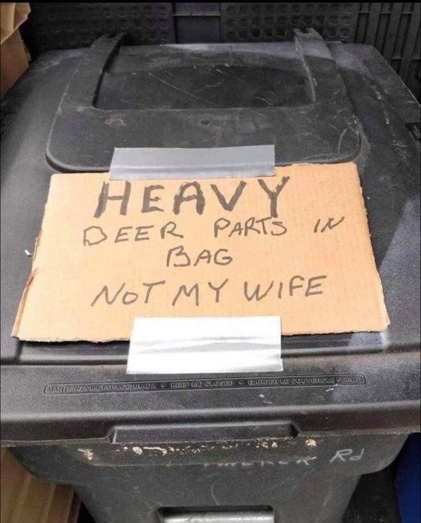 Hilarious Sign