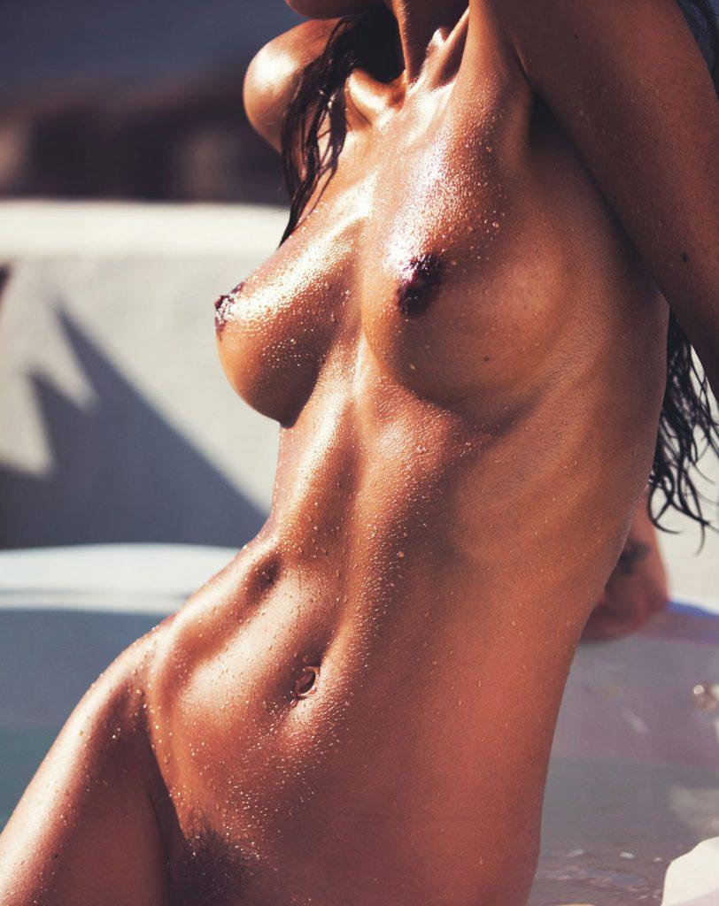 Wet Girl Nudist