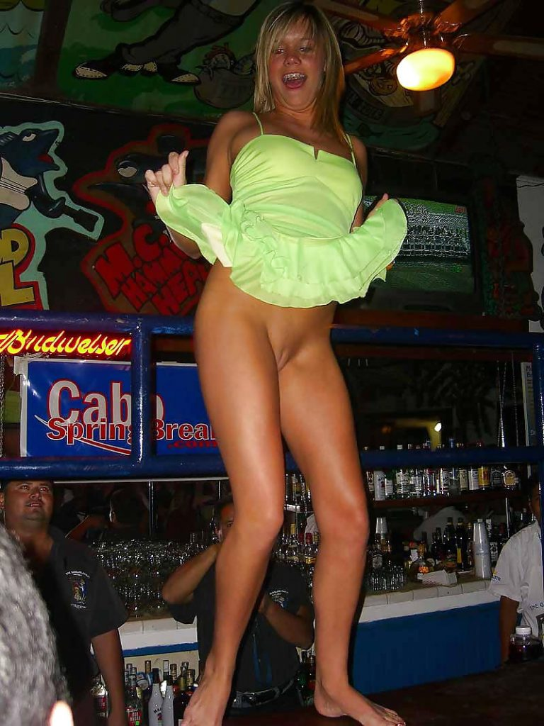 Flashing Girl