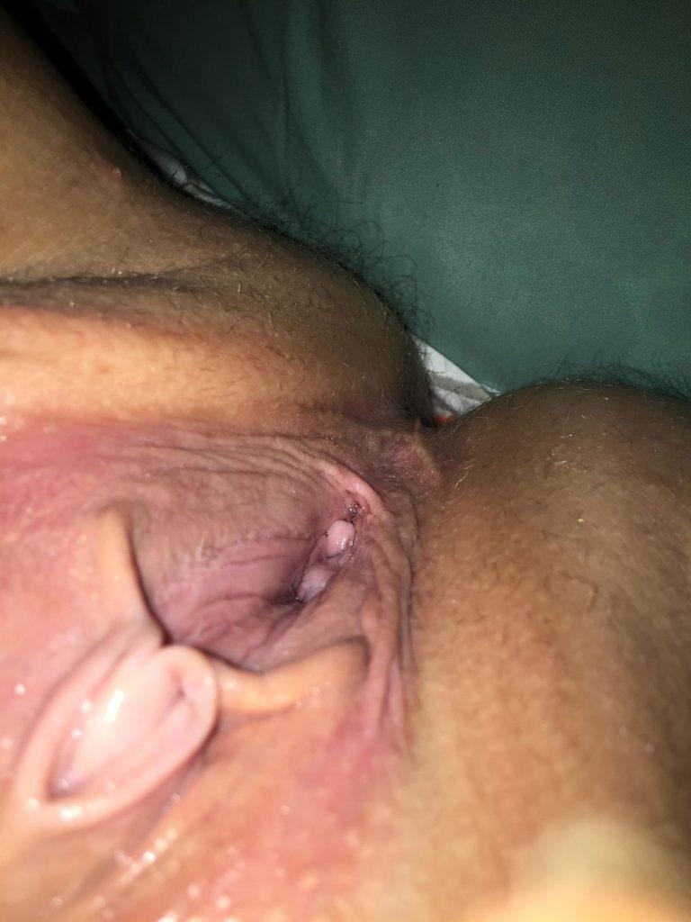 Spreading Porn Picture
