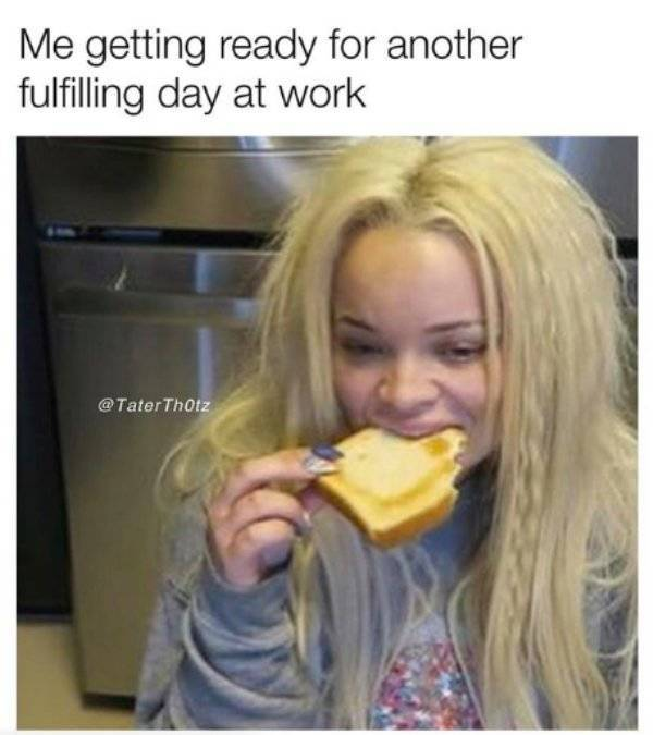 Funny Meme About Work