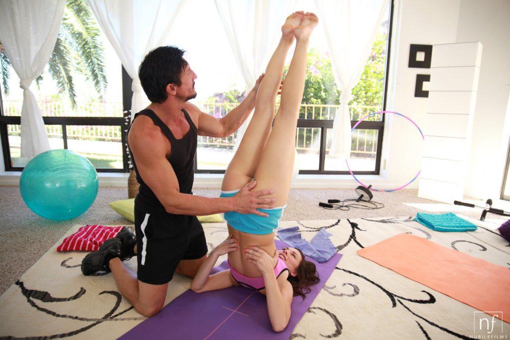 Yoga Girl Aidra Fox Gets Fucked By Yoga Teacher