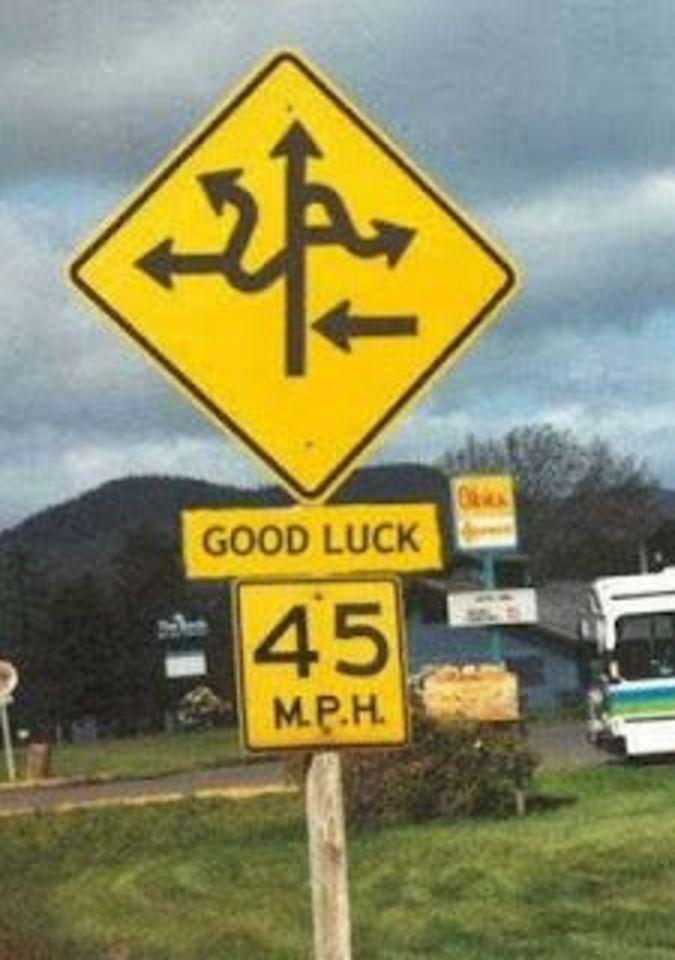 Weird Sign