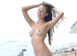 Geisha B Naked At The Beach