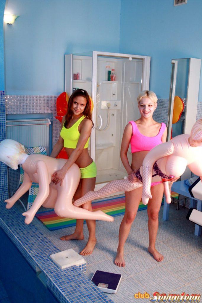 Funny Raver Girls
