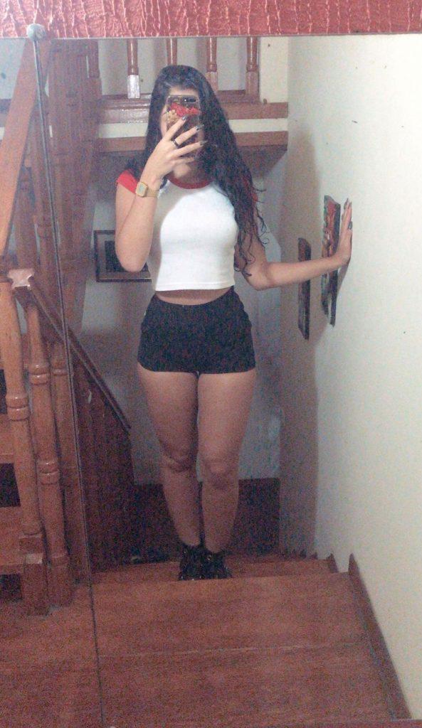 Girl In Short