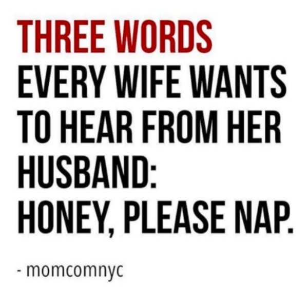 Funny Joke About Married Life
