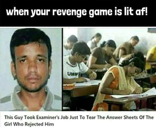 Perfect Revenge Funny Picture