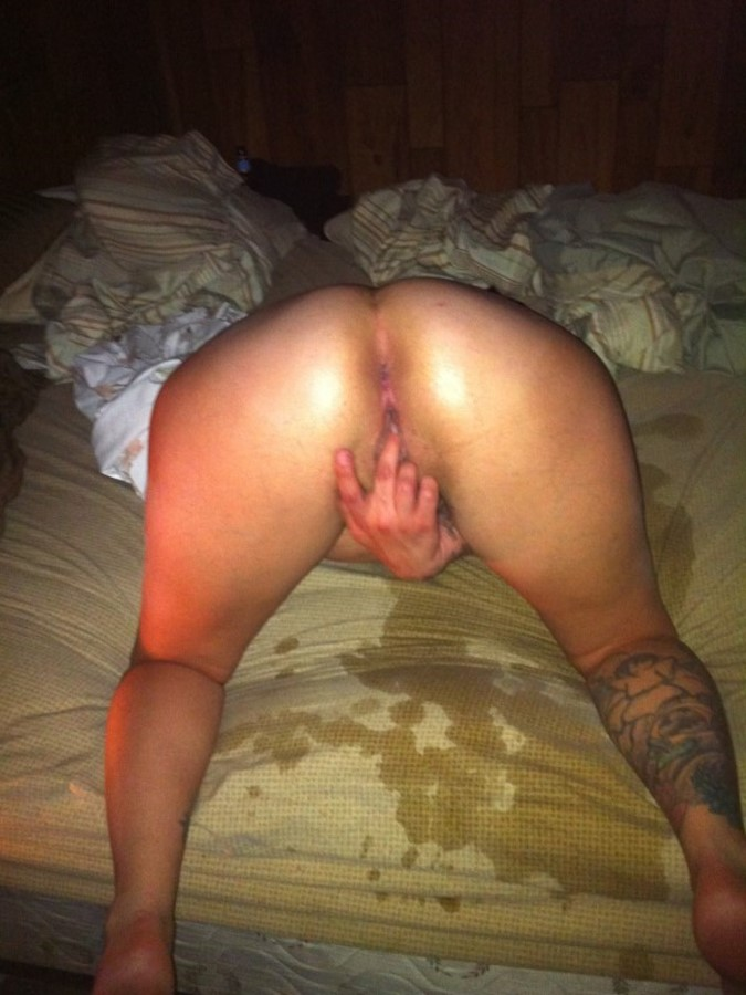 Horny Girl Masturbating Picture