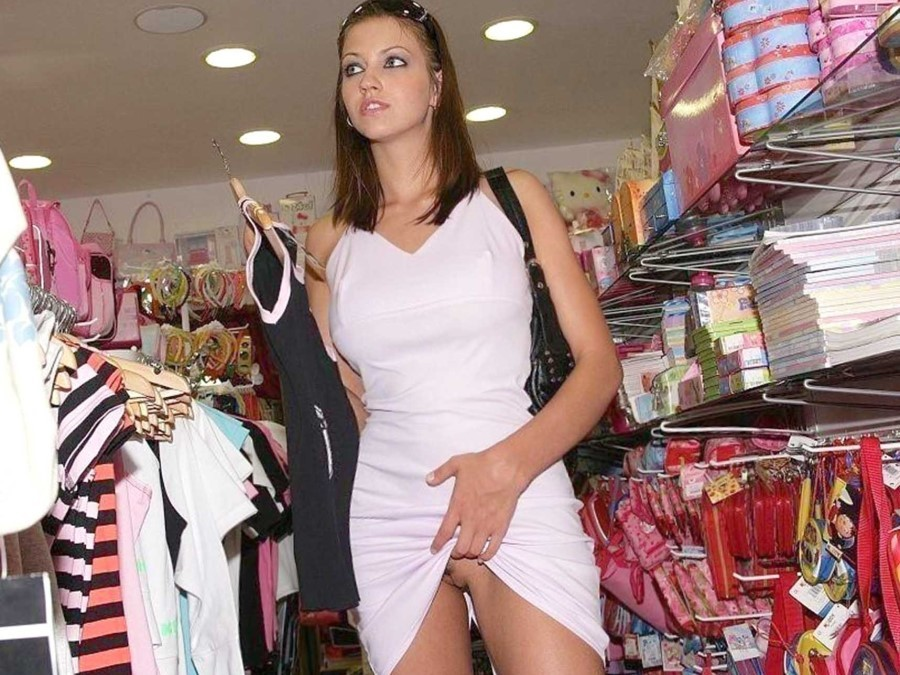 Naughty Shopper