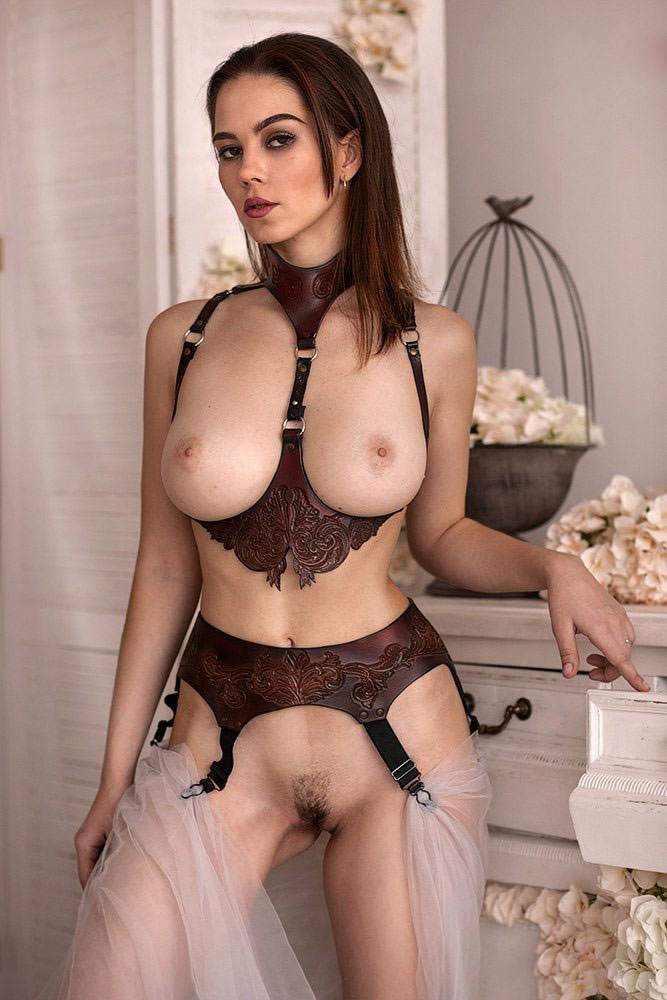 Nudist Lingerie Girl
