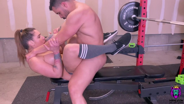 Home Workout With Personal Trainer Gone Sexual