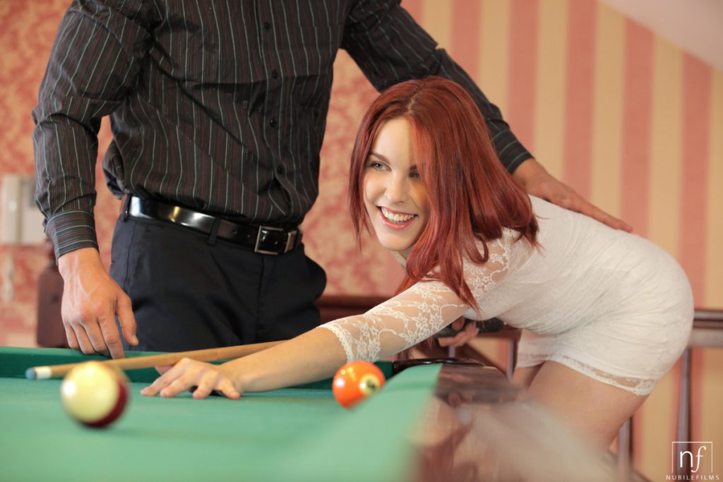 Amarna Miller Fucked On The Pool Table